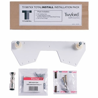 Twyford Total Install Fixing Kit - Optional Upgrade Pack TI1967XX