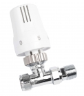 Image for Ultraheat 15mm Straight TRV - White