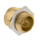 Image for Unicrimp 40mm Brass Cable Gland - QBW40