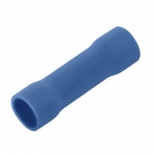 Image for Unicrimp Butt Connector Terminal Pack Of 100 Blue - QBB