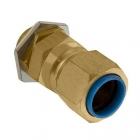 Image for Unicrimp QCW32 32mm Brass Cable Gland - QCW32