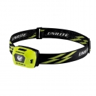 Image for Unilite HL-4R USB Type C LED Head Torch with Helmet Mount