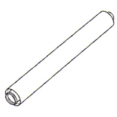 Vaillant Telescopic Air/flue Duct Extension (440mm - 690mm) 100mm Diameter 303906