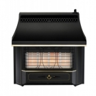 Image for Valor Black Beauty Radiant Outset Gas Fire - 05347E2