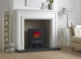 Valor Glendale Dimension 1.8kW Matt Black Stove