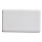 Image for Vimark Curve 2 Gang Blanking Plate White - VC1201