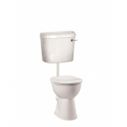 Image for Vitra Arkitekt Low Level BIBO Cistern (Excluding Fittings Pack) - 6415L003-0396