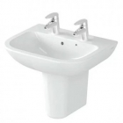 Image for Vitra S20 450mm 2 Tap Hole Cloakroom Basin - 5500L003-0022