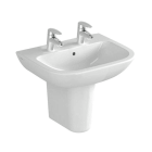 Image for Vitra S20 550mm 2 Tap Hole Basin - 5502L003-0022