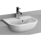 Image for Vitra S20 Semi-Recessed 450mm 1 Tap Hole Basin - 5521B003-0001