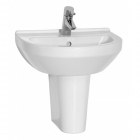 Image for Vitra S50 500mm 1 Tap Hole Round Basin - 5313L003-0999