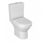 Image for Vitra S50 Closed Coupled Compact Cisten (Inc Fittings) - 5428S003-5325