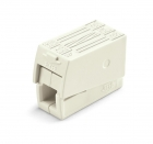 Image for Wago 3 Way Lighting Connector White Box of 100 - 224-112