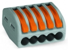 Image for Wago 5 Way Lever Connector Grey/Orange Box of 40 - 222-415