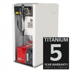 Warmflow U-Series Titanium HE 21-26kW Pre-Pumped Regular Boiler Oil ErP
