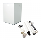Warmflow U-Series Titanium HEE 15-21kW Combination Boiler ErP & Horizontal Flue