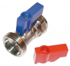 Image for 15mm x 3/4 Staight Washing Machine Tap
