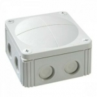 Image for Wiska Combi IP66/67 Grey Junction Box with 5 Way Push-in Terminal Block - 407/4SDKF5