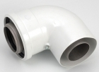 Image for Worcester 100mm 90Deg Flue Bend 7716191084