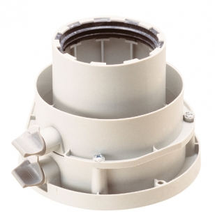Worcester 125mm Flue Adaptor
