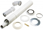 Image for Worcester Highflow 60/100mm Telescopic Horizontal Flue Kit 7716191155