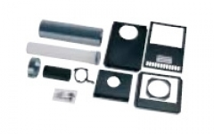 Worcester Low Level Horizontal External 80/125mm Flue Kit 7716190084