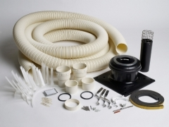 Worcester Oilfit 130mm Flexible Flue Kit 15m 7716190081