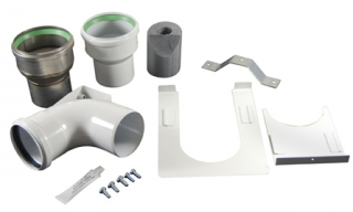 Worcester Oilfit Conventional Vertical Flue Kit 100/103mm 7716190104