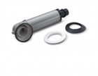 Image for Worcester Silver 100mm Standard Telescopic Flue & Terminal - 7738112869