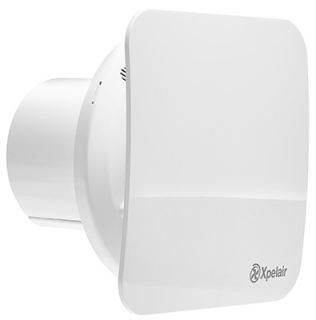 """Xpelair C4HTS 4"""" Humidistat / Timer Square Extractor Fan 92966AW"""